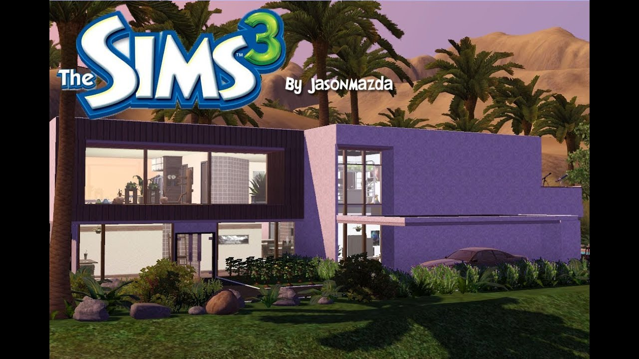 The sims 3 house designs 39 modern oasis 39 egyptian mansion for Sims 3 home design ideas