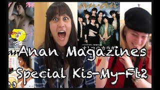 Reacting To KIS-MY-FT2 | Special ANAN (Eng Subs)