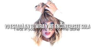 I Knew You Were Trouble-Taylor Swift [Letra español/ingles]