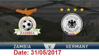 Zambia U20 vs Germany U20 - Fifa U20 World Cup 2017 (1/8)