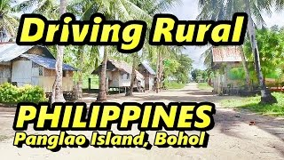 Driving Rural Bohol Philippines Panglao Island