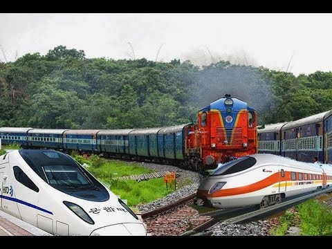 different types of trains in the world