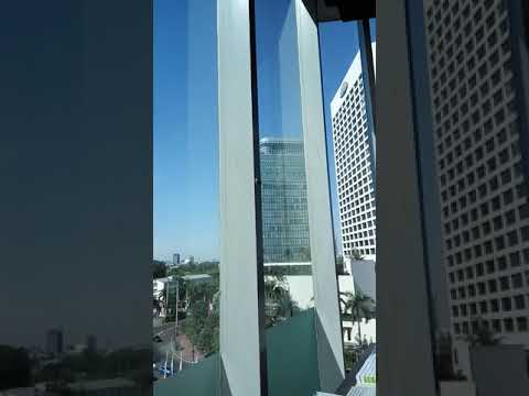 Jakarta Bundaran HI View from Grand Indonesia shopping mall