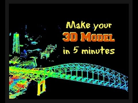Make 3D Point Cloud models from LiDAR Data using AutoCAD Map 3D 2017