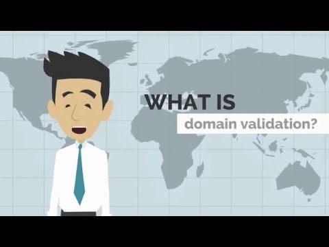 SSL domain validation explained by Hostedo