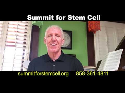 Bill Walton talks about Summit For Stem Cell