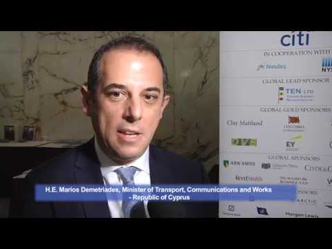 2017 11th Annual Capital Link International Shipping Forum - Marios Demetriades Interview