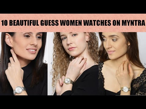 10 Best & Beautiful Guess Women Watches With Price L Myntra
