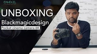 Blackmagicdesign | Pocket cinema camera 6K | UNBOXING
