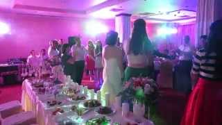 Световое оформление свадьбы Давида и Алены ресторан Атташе 20 06 2015