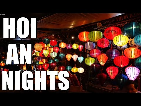 VIETNAM travel - beautiful Hoi An Ancient Town at Night