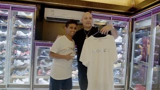 SNEAKER TALK WITH FAT JOE I AM ALL THE WAY UP