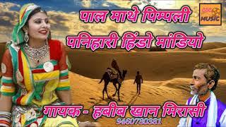 पाल माथे पिम्पली पनिहारी हिंडो मांडियो    latest राजस्थानी लोकगीत 2019    Habib Khan