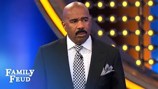 Never... EVER... do that in my face | Family Feud