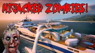 BLACK OPS 2 HIJACKED ZOMBIES LIVE!▐ CoD World at War Custom Zombies Map/Mod