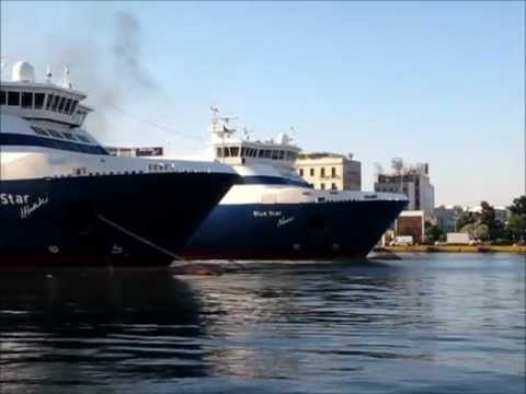 Piraeus Main Port Movements 22 June 2011