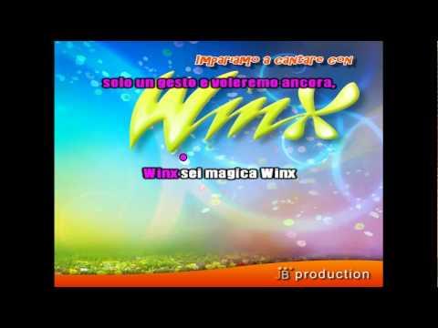 Nel segno di Winx - Cantata Karaoke Version - LaTVdeiBambini