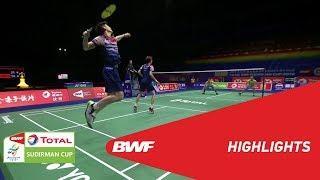 TOTAL BWF SUDIRMAN CUP 2019 | MD | CHINA VS THAILAND | BWF 2019