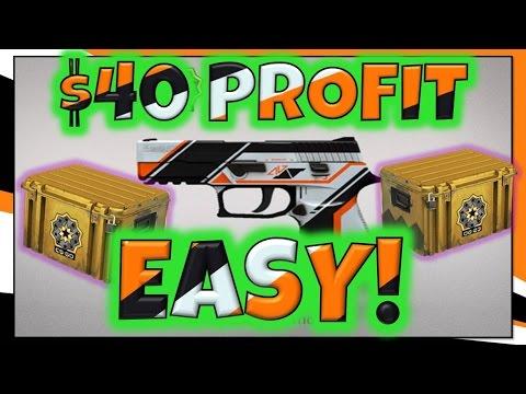 CSGO - $40 PROFIT! | CHEAP, LOW RISK TRADE UP | Towel Boy