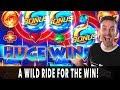 WILD RIDE on WILD FURY JACKPOTS Bonus Win! 🔥 HANDPAY on ...