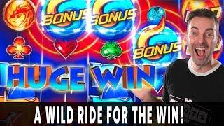 ♣ WILD RIDE on WILD FURY JACKPOTS Bonus Win! 🔥  HANDPAY on Jackpot Streams!