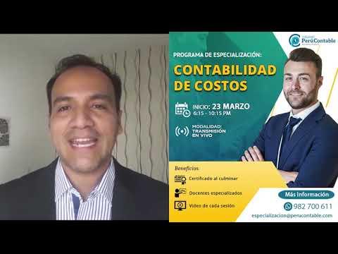 PROGRAMA DE ESPECIALIZACIÓN EN EN CONTABILIDAD DE COSTOS