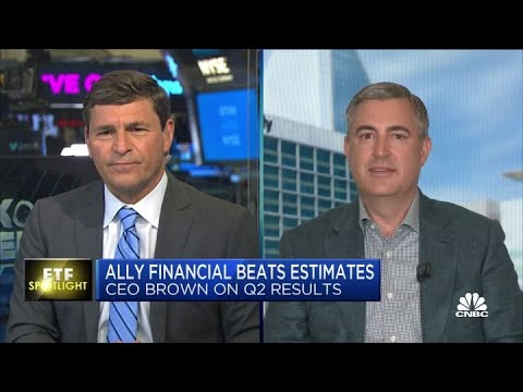 Ally Financial CEO: Strong auto lending continues