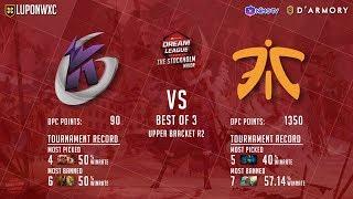 Fnatic vs Keen Gaming Game 2 (BO3) | Dream League Season 11 Stockholm Major thumbnail