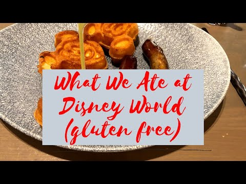 What We Ate at Disney World (Gluten Free)