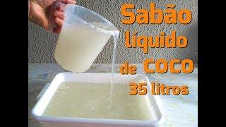 Sabão Liquido de Coco para Roupa Brancas