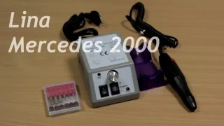 Обзор фрезера для маникюра Lina Mercedes 2000.(В этом видео, первом на нашем официальном канале, вы сможете ознакомиться с одной из лучших моделей фрезеро..., 2016-01-19T14:55:52.000Z)