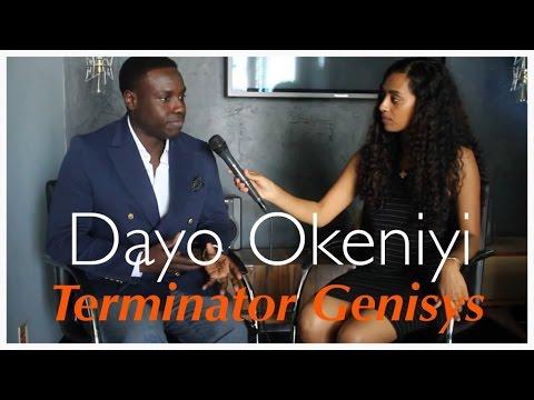 Dayo Okeniyi Talks Terminator Genisys