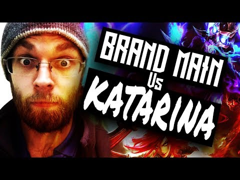 How to Smash a Katarina as brand - Placement games - Season 8 lol