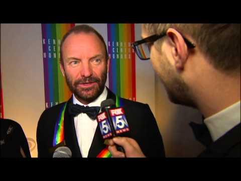 Tom Hanks, Sting, Al Green, Lily Tomlin, Patricia McBride interviews - Kennedy Center Honors