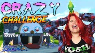 ALLA ÄR GALNA! 😂   Crazy SimsChallenge #1