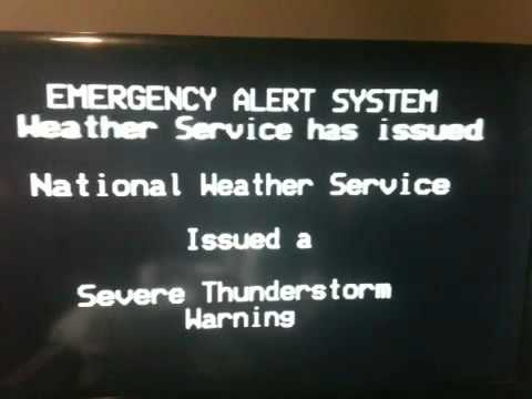 Thunderstorm Warning for Portland