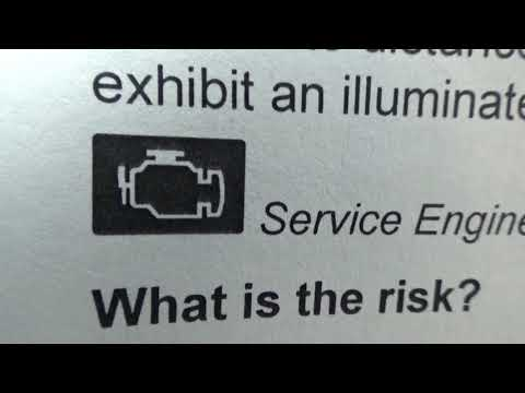 Горит Чек CHECK ENGINE LIGHT Ford Focus Причины