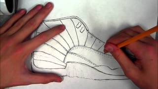 How to Draw: Jordan 12 (Speed Art)