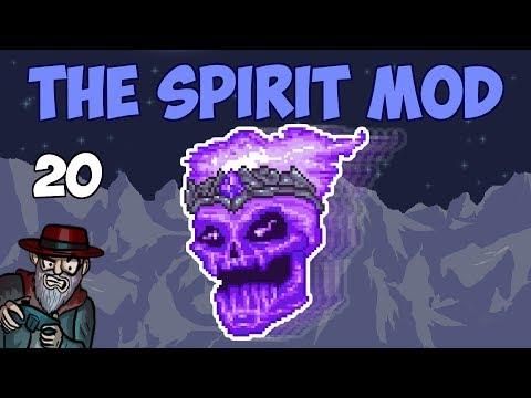 Terraria #20 DUSKING BOSS FIGHT! - 1.3.5 Spirit Mod Let's Play