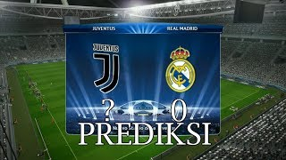 Prediksi Juventus vs Real Madrid Leg 1 Liga Champions 2018