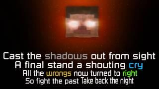 A Minecraft original song - Take back the night - Lyrics - HD (radio edit)