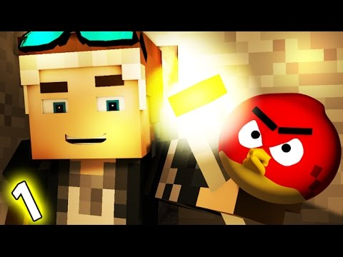 ⚡️ANGRY MINECRAFT 2 - part 1 (Angry Birds Animation Movie) ⚡️