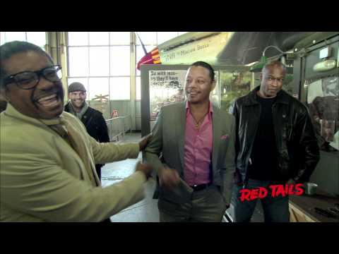 Ebony Red Tails Behind the Scene