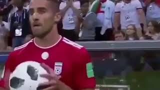 WK 2018  - 🇮🇷 VS 🇪🇸 - THROW IRAN