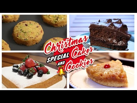 Cakes Cookies Recipes Christmas Special Easy To Make Cakes