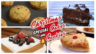 Cakes & Cookies Recipes | Christmas Special | Easy To Make Cakes & Cookies At Home | Rajshri Food