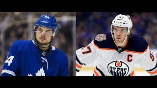 NHL STREETER: Who is going to be paid the most next year -Matthews or McDavid?