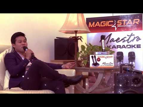 The Male Diva Marcelito Pomoy sings with Magic Star Maestro Karaoke!