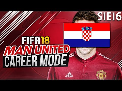SIGNING A CROATIAN WONDER-KID | FIFA 18: Manchester United Career Mode - S1 E16