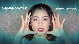 Contour & Highlight for DIAMOND shape Faces